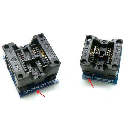 Socket IC Flasher