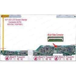 "LCD 8.9"" ASUS EEEPC 900 901 2133 2140 ZG5 A110-ZG5 A 150 MSI U90 (40 pin tebal)"