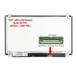 """LED 15.6"""" ( NT156WHM-N12) Slim 30 Pin"""
