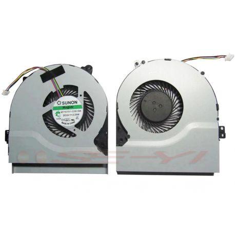 FAN ASUS X450 X450C X450CA X450CC X550 X550C X550CA - * TYPE KSB06105HB-AL10 DC5V - 0.40A ( 4PIN )